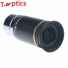 66 degrees Ultra Wide 6mm Eyepiece outer lens Fully Multi Coated for Astronomical Telescope free shipping