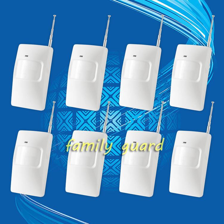 8 шт. / много 315 / 433 мГц беспроводная пир датчик / движение детектор для беспроводная GSM / PSTN автонабора для дома безопасность сигнализация система
