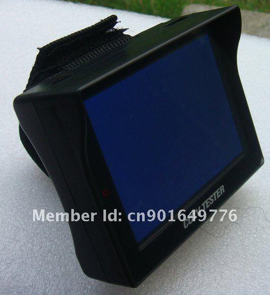 new type wristbelt 3.5'' TFT MONITOR CCTV TESTER/2 years warranty