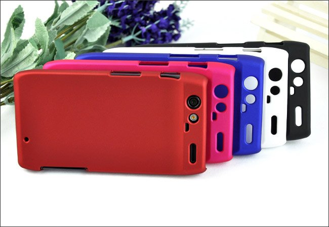 matte frosted BACK hard protective Case Cover for Motorola XT910(DROID RAZR)+screen protector(China (Mainland))