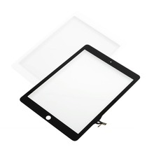 For iPad Air 5th Gen White or Black USA Digitizer Outer Glass Touch Screen Top Outer Glass Panel Lens(China (Mainland))