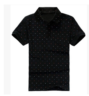 Free shipping 6xl 7xl 8xl 5XL plus size dot black grey xxxl clothes mens fashion t-shirts t shirt big casual tshirt famous brand(China (Mainland))