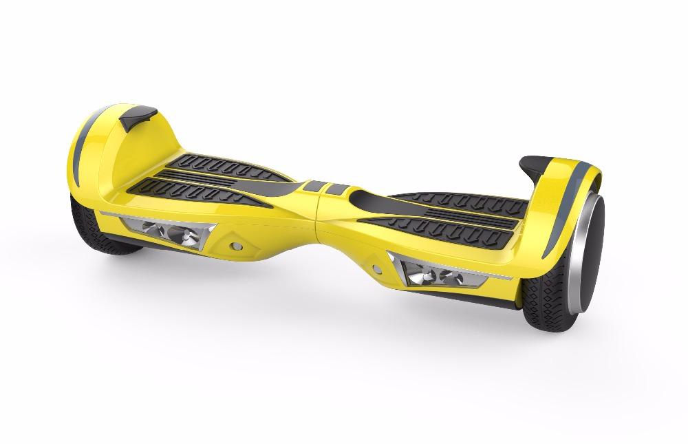 Iscooter ХОВЕРБОРДА Bluetooth 7.5 дюймов 2 колеса Электрический скейтборд рулевого колеса самобалансировку скейтборд дрейф скутер со светодиодной
