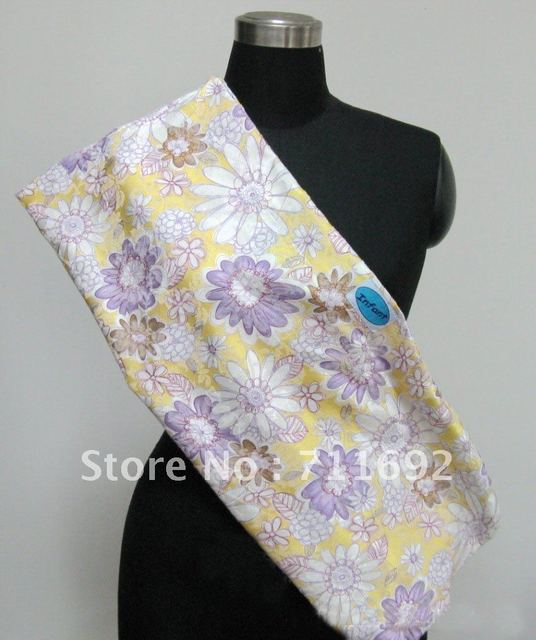 Free shipping- 2012 new Hot Classic popular Cotton elasticity SHOULDER MESSEN printing Baby Slings baby carrier with storage bag
