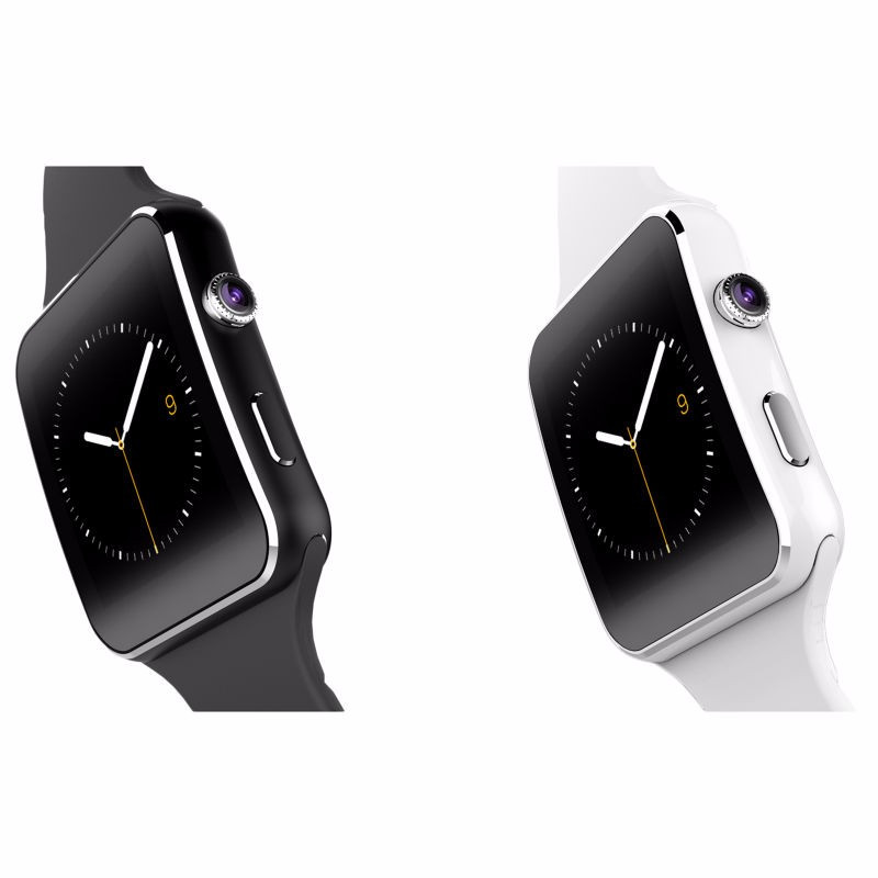 2017 New Bluetooth Smart Watch X6 Smartwatch sport watch For Apple iPhone Android Phone With Camera FM Support SIM Card T30