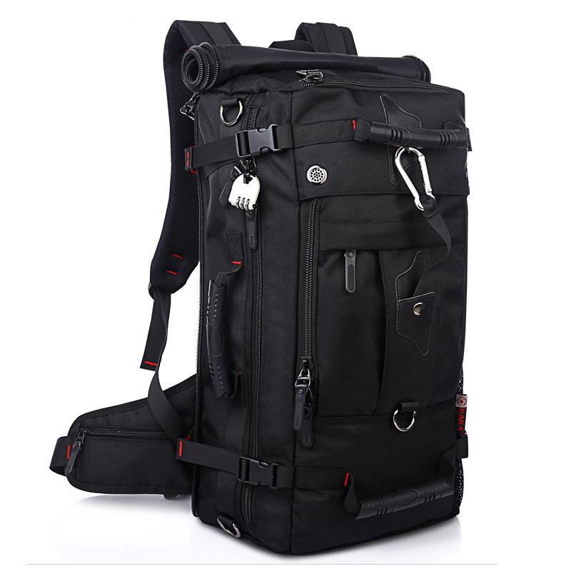 Laptop Backpack Shoulder Bags Large Capacity 40L Men Luggage Travel Bags Multifunction Outdoor Sport Waterproof Hiking