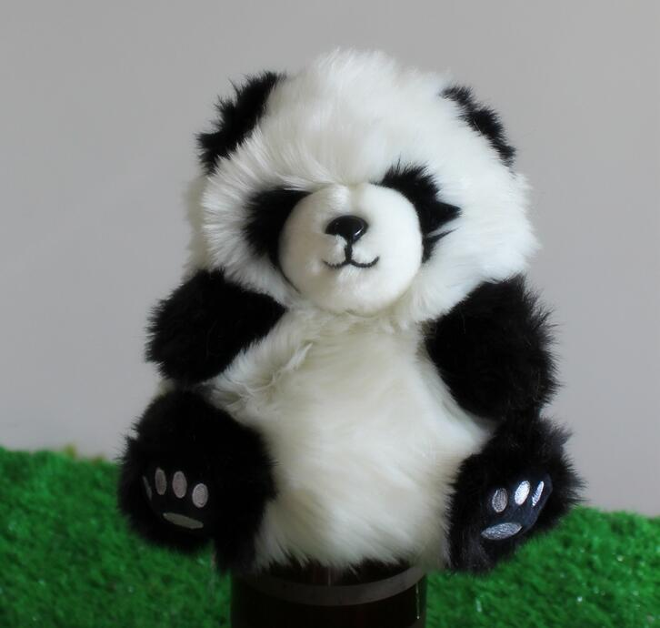 Childrens Educational Toys Puppet Kawaii Plush Panda Toy Store Gifts For Baby(China (Mainland))