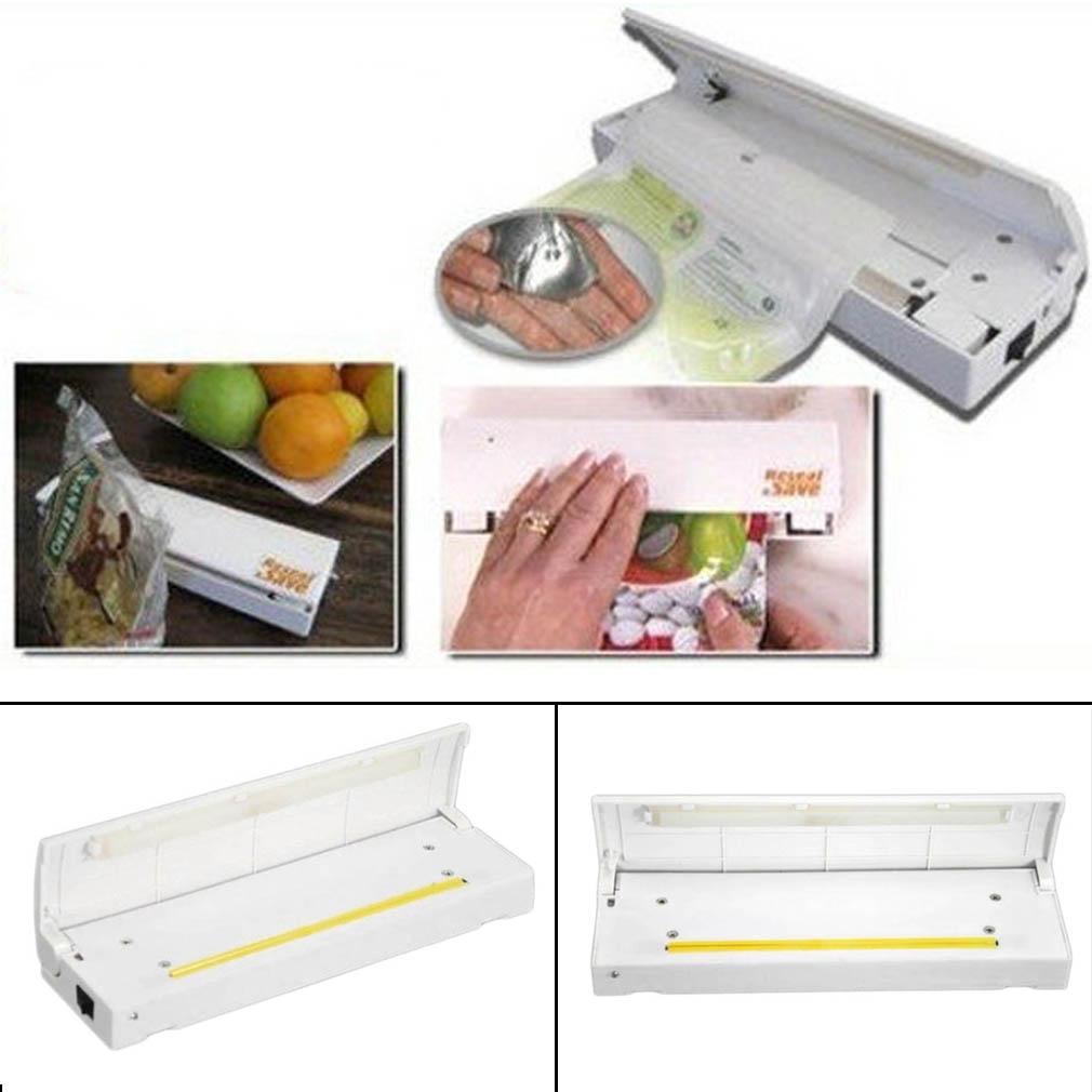 SDFC Food Vacuum Sealer Save Home Portable Reseal Keep Food Moistureproof Speed sealing machine for Food Plastic storage bags(China (Mainland))