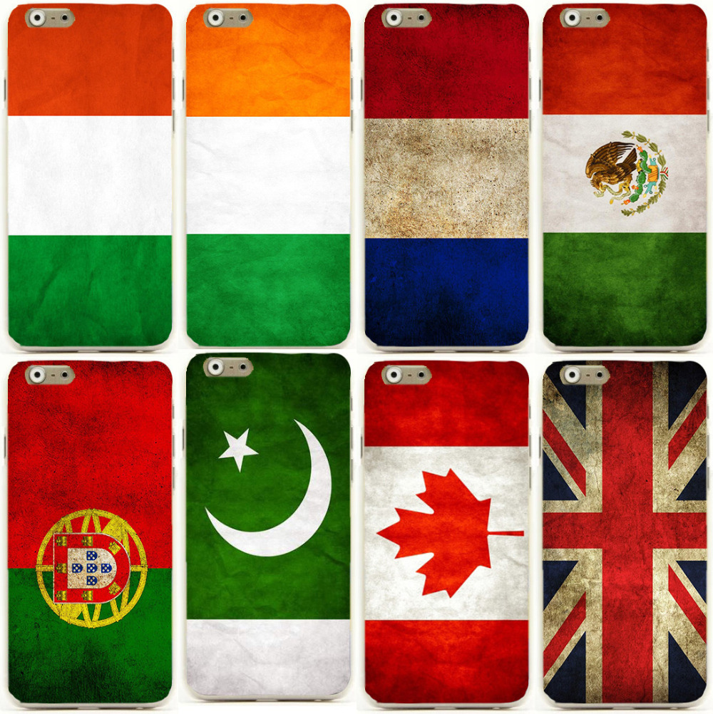 National Flag Pattern Mexico,Portugal, France,UK,Canada mobile phone cases cover skin Shell for iphone6 4.7/5.5 for iphone6 plus(China (Mainland))