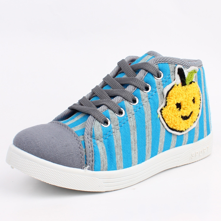 2015 Real Sneakers Kids Shoes Heelys Factory Outlets Fashion Warm Padded Canvas Slip Resistant Shoes Cotton-padded Wholesale 807(China (Mainland))