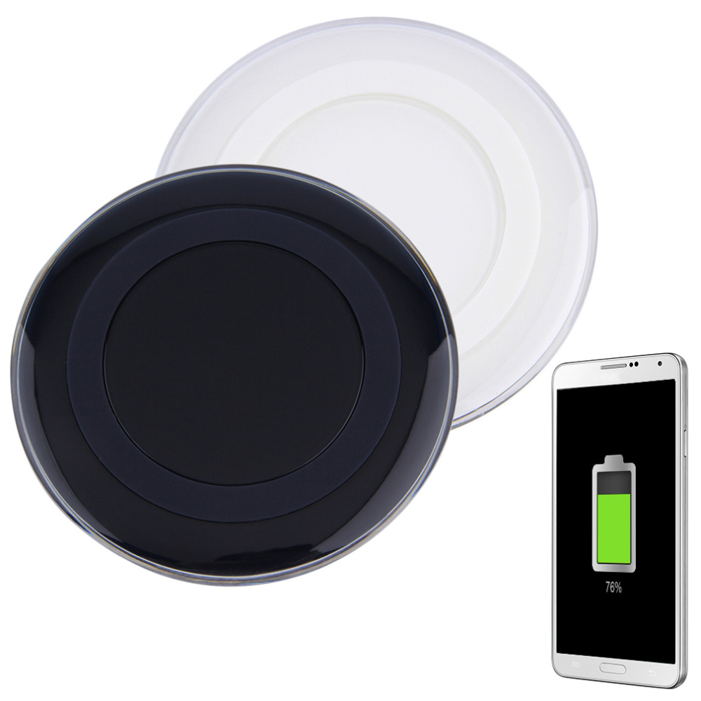 New Portable Qi Wireless Power Charging Charger Pad For Smart Phone Universal Wholesale