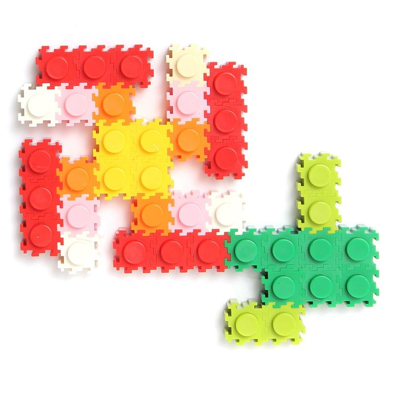 200X Selection Blocks Constructing Block Child Youngsters Kindergarden Schooling For Inventive Toy Multicolor