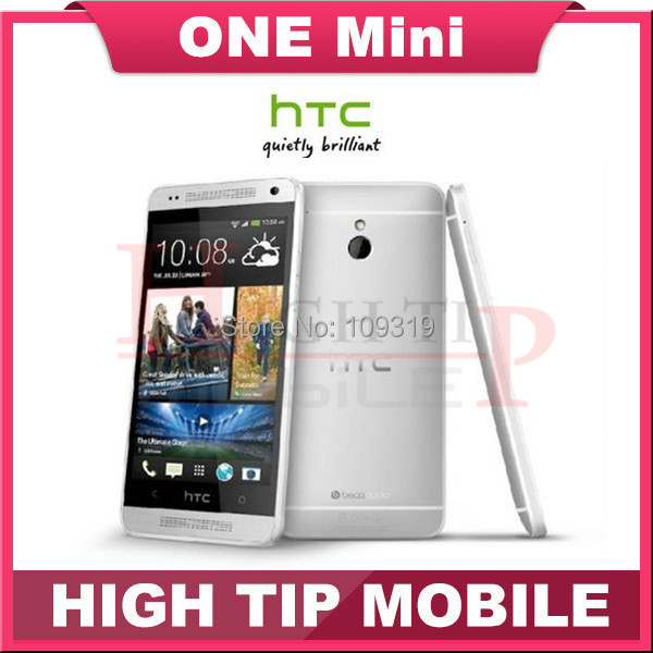 Hot sell 4.3''4MP camera 16GB Internal Original HTC ONE Mini 610e Unlocked Cell Phone Free shipping 1 year warranty Refurbished(China (Mainland))