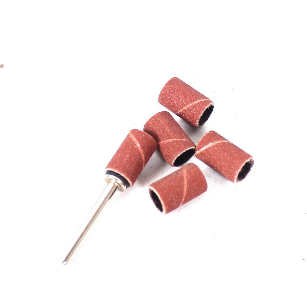 Гаджет  6pcs/lot  #320 Sanding Bands dia. 8.5mm  with Drum Sander for Drill Bits Machine Grinding Sand Ring dremel accessories None Инструменты