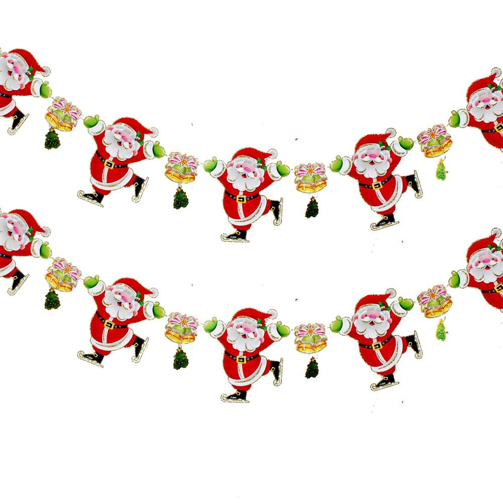 Free Shipping Hot Sale Christmas Decorations Santa Claus Decoration