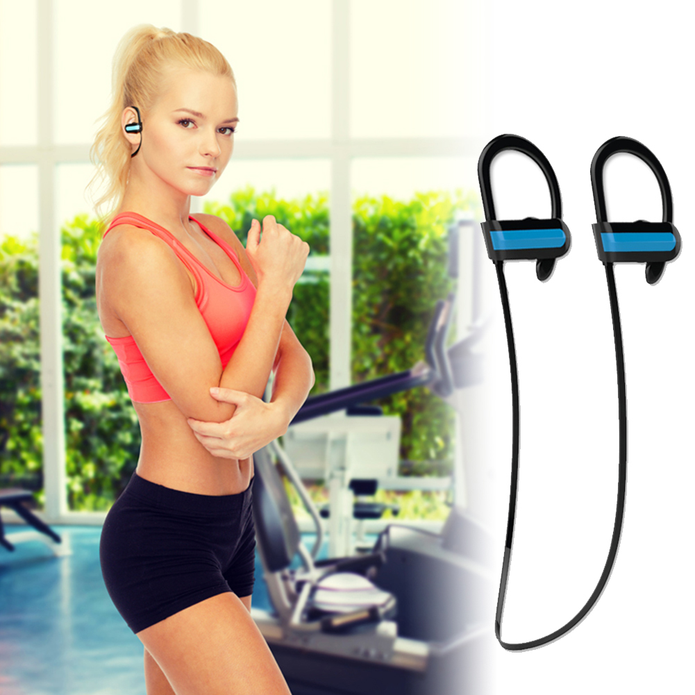 Bluetooth 4.1 Earphone Sports Sweatproof hands-free Headphone Long Talking Time Earbuds with Mic calls mp3 music earbuds L3FE