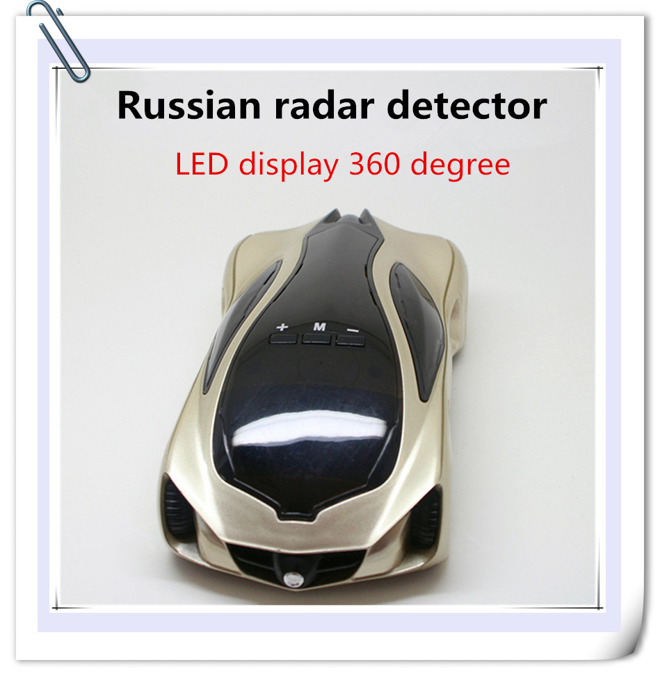 Newest 2015 radar detector GPS Anti Police 16 Band Car Radar speed gun ...