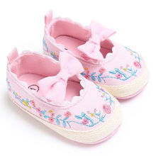 Kids Shoes For Baby Girls Casual Fashion Sneaker Mesh Princess Shoes Kids Bow-knot Soft Soled Mesh Anti-Slip Single Sneakers(China)