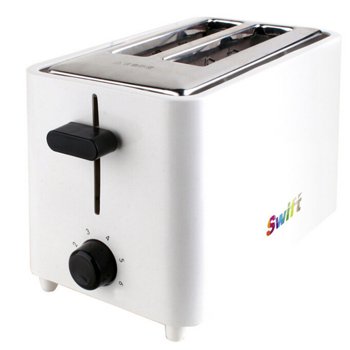 Фотография Free Shipping 2 Slices Household Toaster Bread Maker Defrost Single Bread Piece Toasting Bread Machine