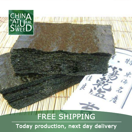 Free shipping Sushi nori seaweed/sushi A Korea/Japan/China sushi nori,100pcs/pack,400g,2014 top selling Dry seaweed(China (Mainland))