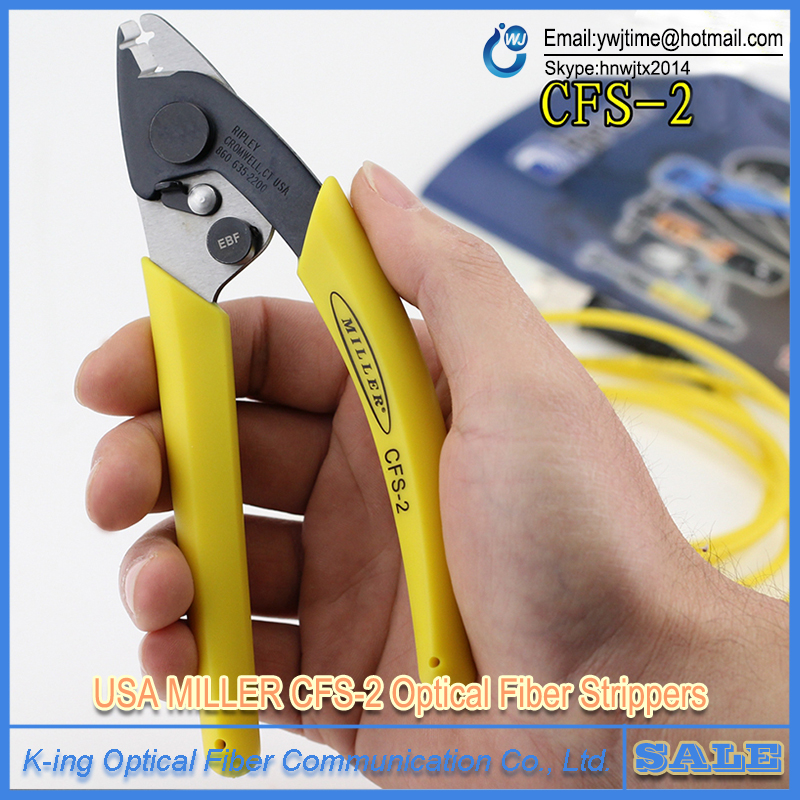 Original Fiber Optic Cable Stripper For Stripping 125 Micron Fiber, Double-nose pliers ,Forceps Miller ,FTTH Tools ,CFS-2(China (Mainland))