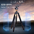 QZSD Q999C Carbon Fiber Tripod Pro Tripod Monopod Changeabel For SLR Camera Tripod Ball Head Free