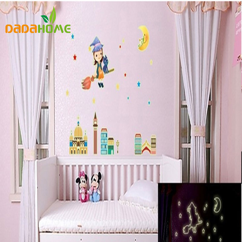 Wall decals decor removable wall stickers moon girl from reliable moon