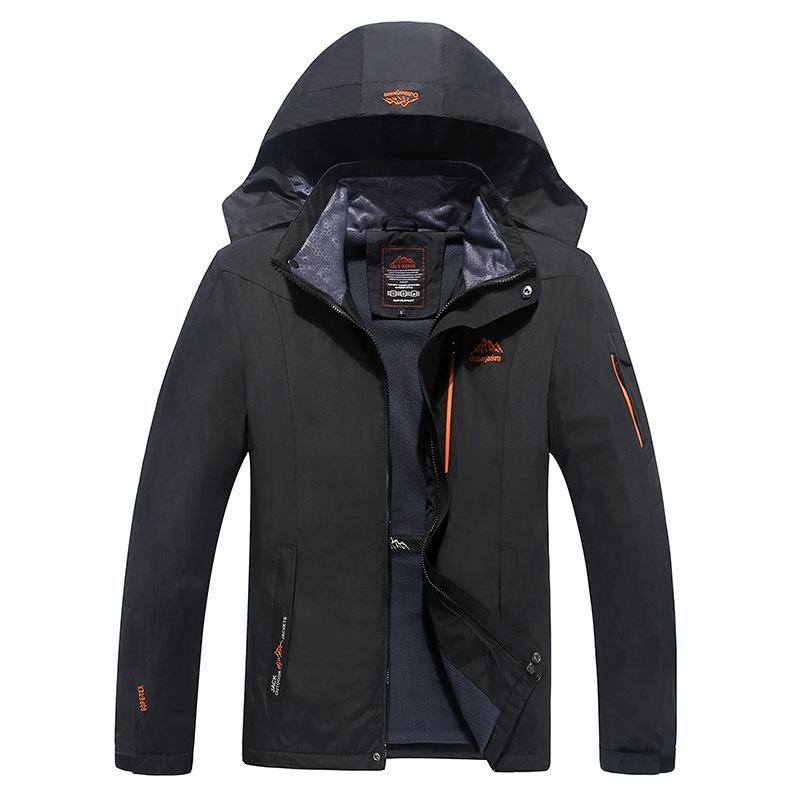 Newest design Man's Pizex Outdoor Waterproof Windproof Mountain Warm Coat Jacket Climbing Jacket Men Pizex Large Size Sportswear(China (Mainland))