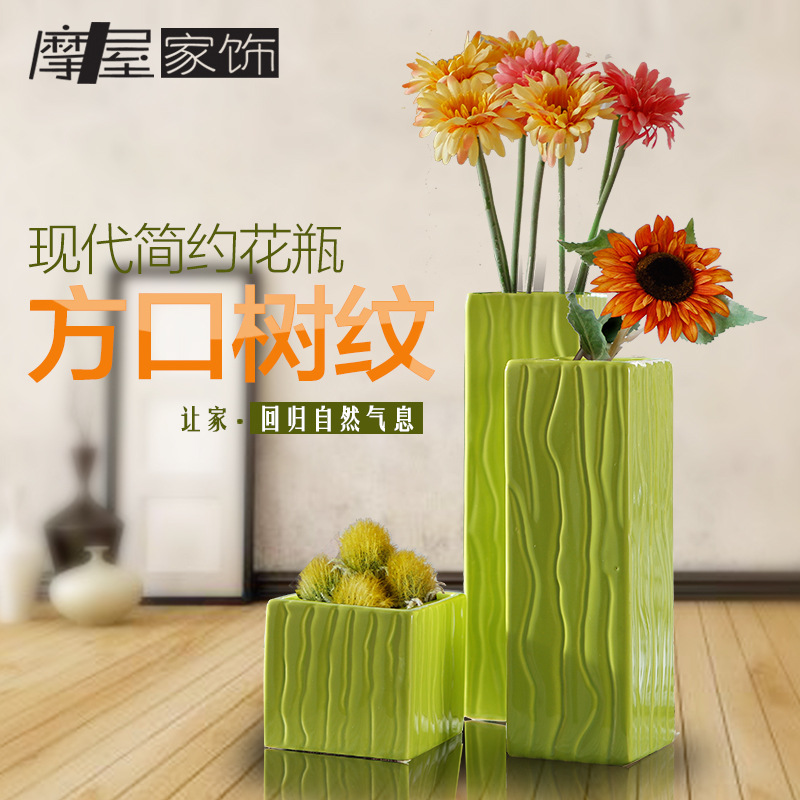 Exclusive Genuine Jingdezhen Ceramic vase modern minimalist living room table vase Home Decoration(China (Mainland))