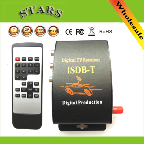 Digital Car Mobile TV Tuner Receiver ISDB-T Set Top Box Antenna ISDB T BRAZIL CHILE South America,Dropshipping Free Shipping