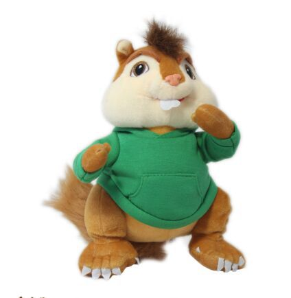 product free shipping animation Alvin and the Chipmunks figures  Theodore plush toyChristmas gift m8221