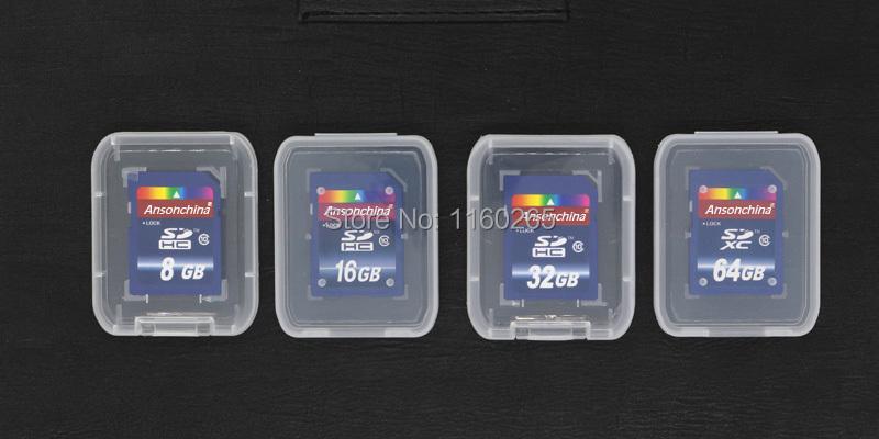 Pass H2testw Full size SD Card 64gb 32gb 16gb class 10 memory card 8GB Transflash flash
