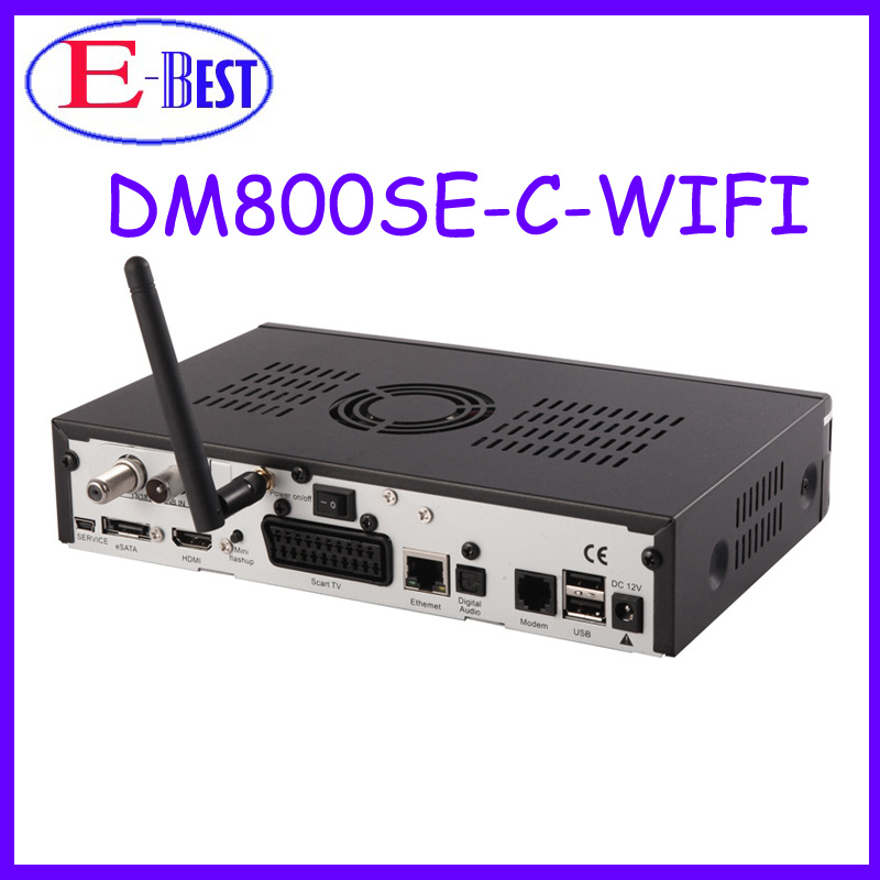 1 unid dm800 se Interna Wifi dvb-c Receptor de Cable 300 300mbps WLAN Dentro enigma2 linux os dm800 HD sí Wifi D13 Versión en stock(China (Mainland))