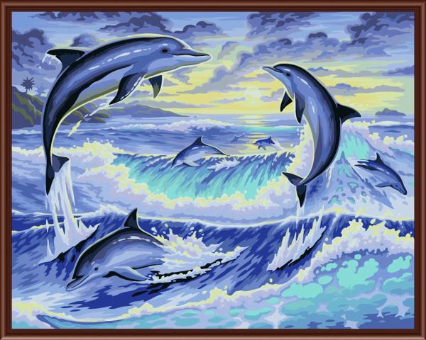 Dibujos De Delfines - Compra lotes baratos de Dibujos De Delfines ...