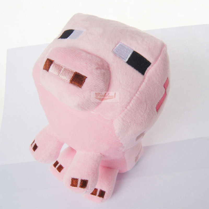 Free Shipping 100% Genuine Lovely Pink Pig Shape Soft Plush Toys Kids Baby Toy Christmas Gift 2015 New Arrival Promotion(China (Mainland))