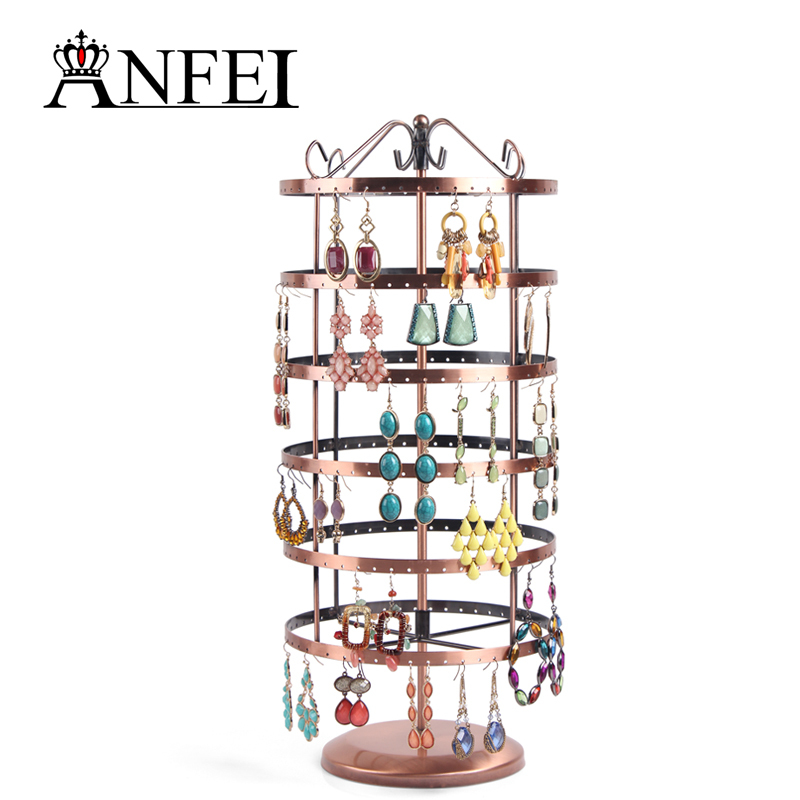 Free shipping jewelry display rack jewelry stand display jewelry holder jewelry organizer earring holder total 288 holes(China (Mainland))