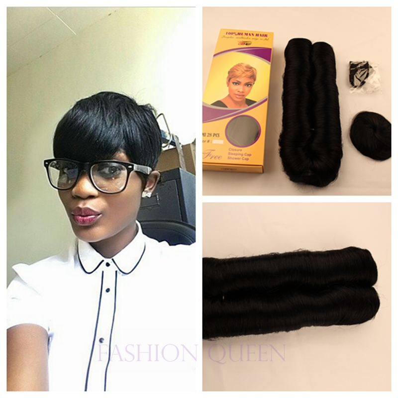 Short 28 Piece Quick Weave Hairstyles Short Hairstyle 2013