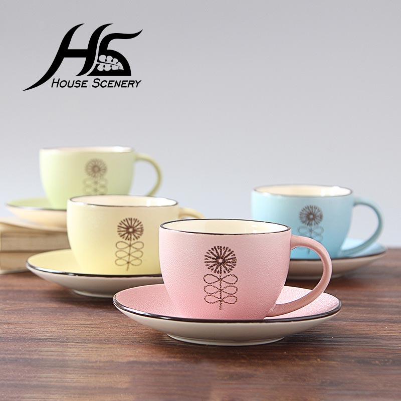 Acquista all 39 ingrosso online cappuccino tazza tazza da for Casa in stile europeo