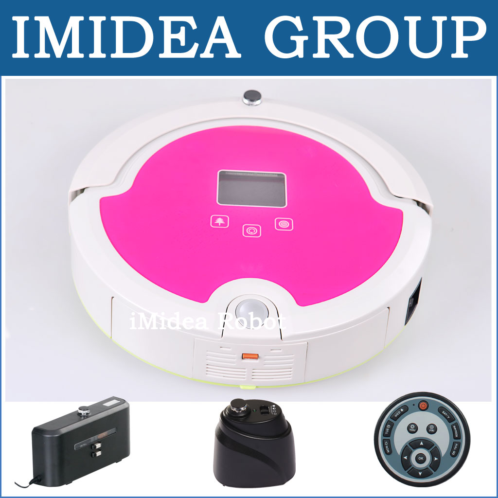 Free EMS to Ukraine,Vacuum Cleaning Robot,Sterilize,LCD,Touch Button,Schedule,Auto Charging, Virtual Wall, Avoid Bumping, 50dB(China (Mainland))