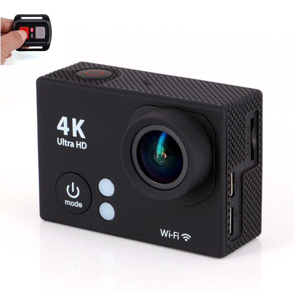2 Inch TFT LCD 170 Degree Wide Angle Lens Hd 1080p 30m Waterproof 4k Ultra Sport Dv Wifi Action Camera with 2.4G Remote Control<br><br>Aliexpress