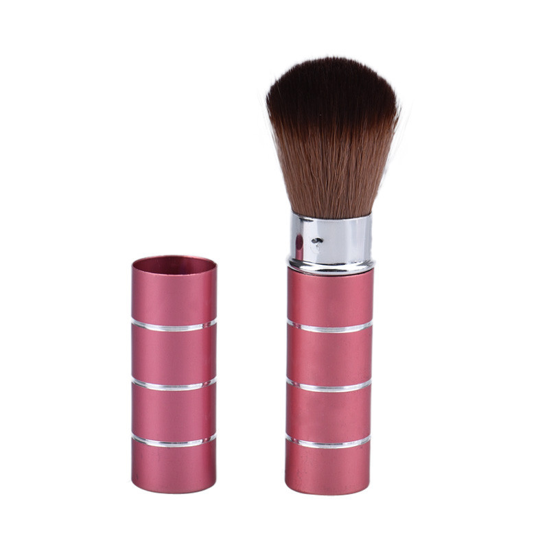 Retractable Dome Blush Brush Aluminum Eyeshadow Brushes, Make-up Accessories, Cosmetic Makeup Tools Women Girls Dec22