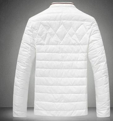 White black orange stand collar thicken warm short down jacket men coat duck down mens winter