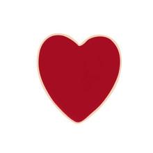 Donna Spille Rossetto Lip Cuore di Amore Cherry Smalto Spilli Sexy di Modo Spilla Vestiti del Risvolto Tasto del Metallo Spille Accessori Dei Monili(China)