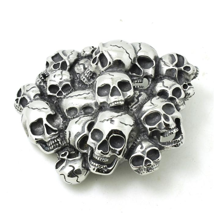 Mens Boys 316L Stainless Steel Cool Punk Gothic Skull Mens Belt Buckle Evil Skull Demons Belt Buckle<br><br>Aliexpress