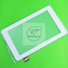 "10pcs/Lot 7"" Touch Screen Digitizer Panel ZP9015-7 ZP9015 For Window Tablet PC YUANDAO VIDO N70S N70 S Dual Core White Color"