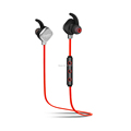 free ship Wireless Bluetooth Earphone B7 Red Stereo HIFI voice in ear with microphone for radio