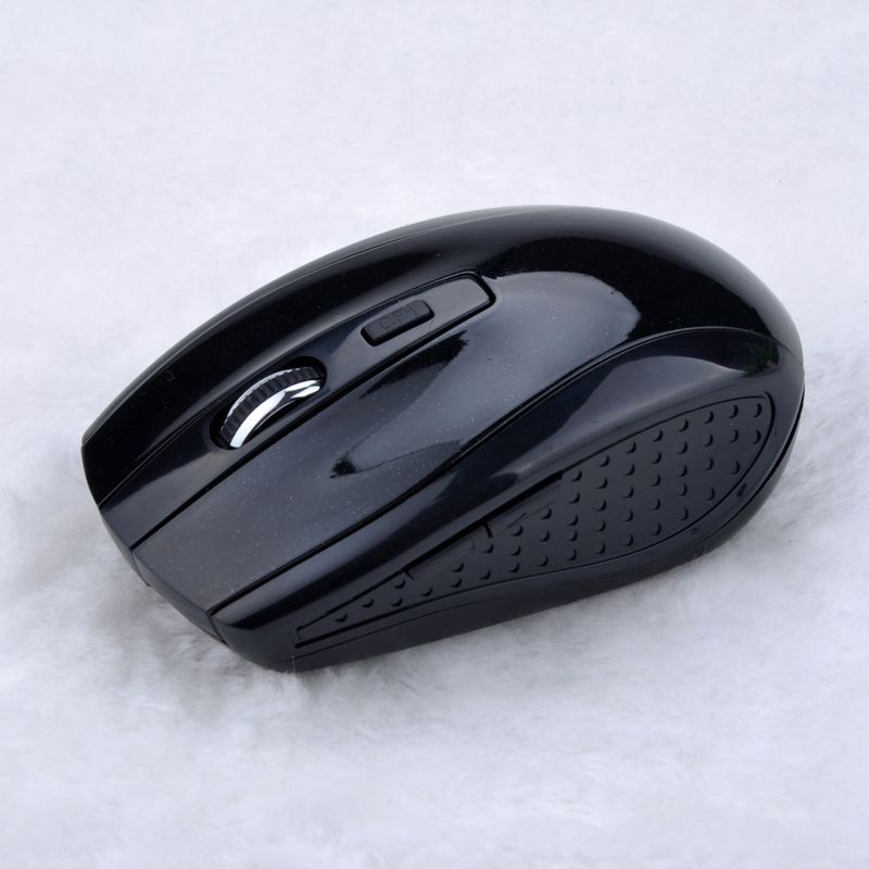 Free Shipping 2.4G USB Optical Wireless Mouse for Computer Laptop 10M Working Distance 2.4G Receiver Mouse Mice #7(China (Mainland))