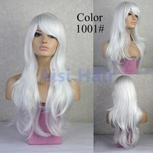 """Synthetic Wigs 28"""" Long Ash Blonde Wig Curly Drag Queen Heat Resistant Cheap Fake Hair african american afro wig for black women(China (Mainland))"""