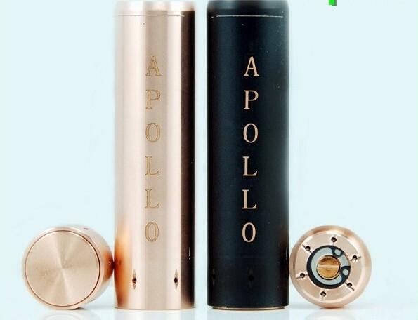 ถูก 5ชิ้นapolloสมัยสหรัฐอเมริกาสีดำเอสเอสทองแดงทองเหลืองmodsกลบุหรี่อิเล็กทรอนิกส์สำหรับe-cig cigsอีrdaเครื่องฉีดน้ำapolloสมัย