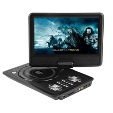 New 7 inch TFT Screen Display Portable DVD EVD Player TV VCD CD MP3/4 USB GAME Mobile TV For EU Socket Plug Rechargeable Battery(China (Mainland))